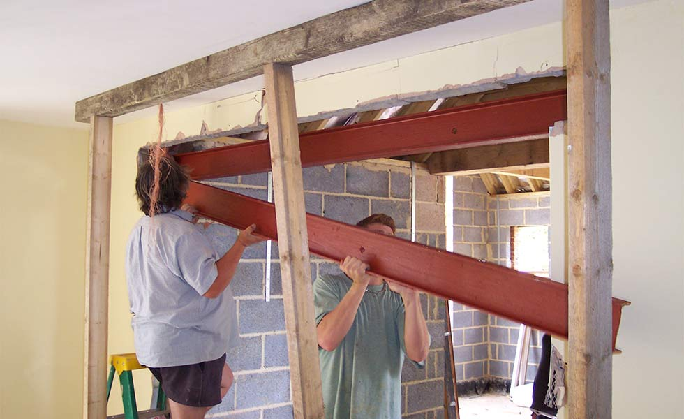 installing a new lintel