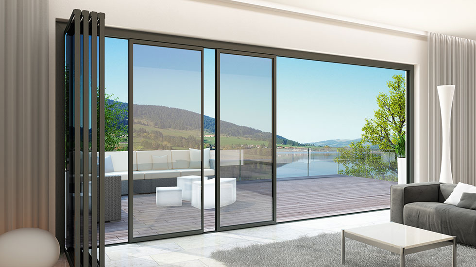 slide and turn bifold doors