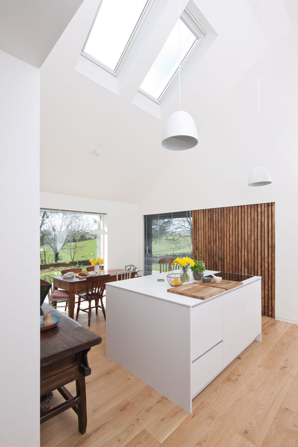 creating a striking double height space is a great renovation idea