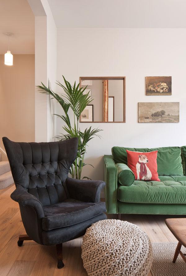 broken plan living arrangements are a good alternative to open plan designs