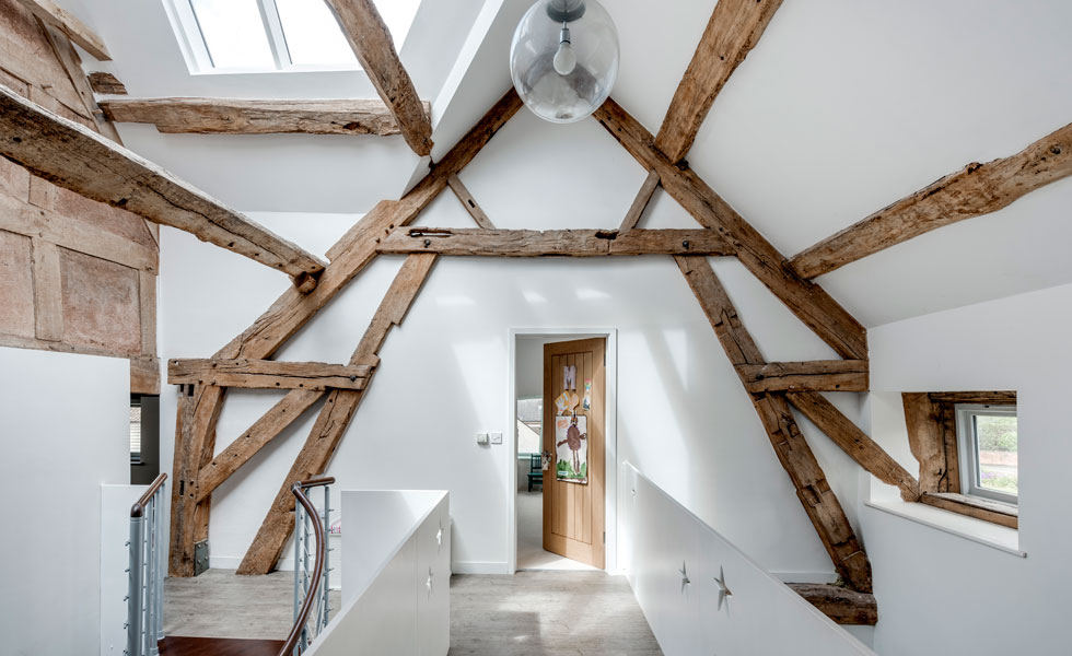 When renovating, you may decide to expose the original fabric of the building to make a feature of its history