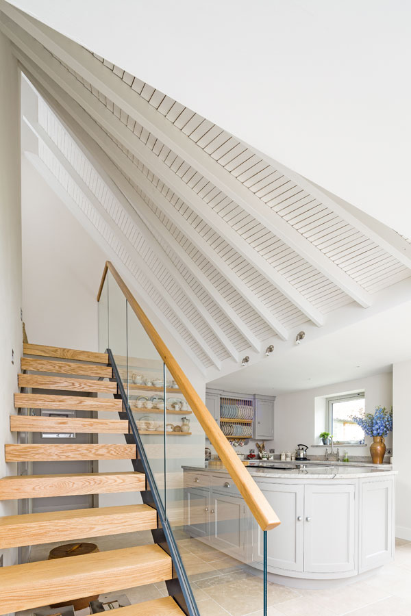 Design ingenuity like this twisted roof can marry striking design with practical considerations