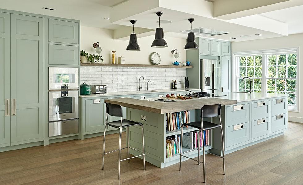 kitchen extension_shaker design