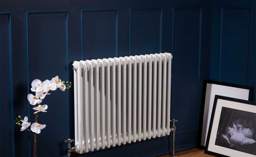 Navy wall and column radiator