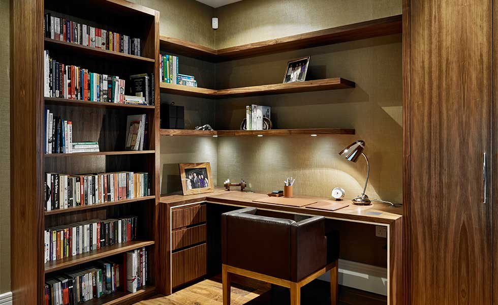 Fitted study storage