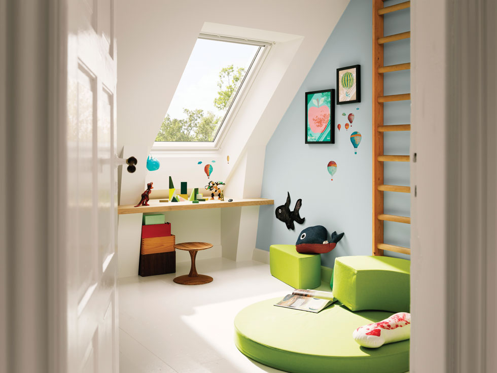 Use the loft to give your children space to relax or do homework