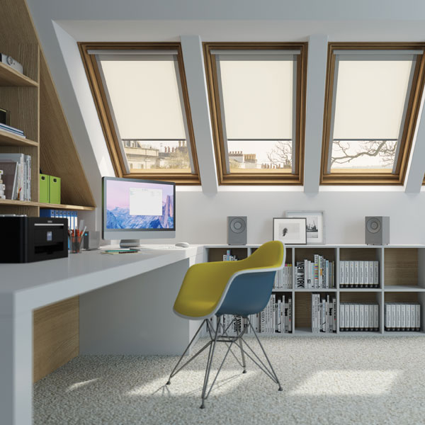 Work from home with a dedicated home office located in the loft