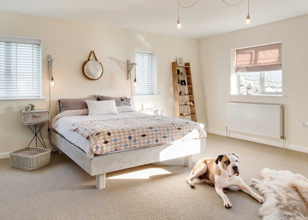 neutral master bedroom suite