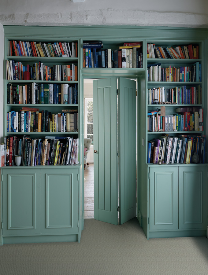 bifold internal doors in library