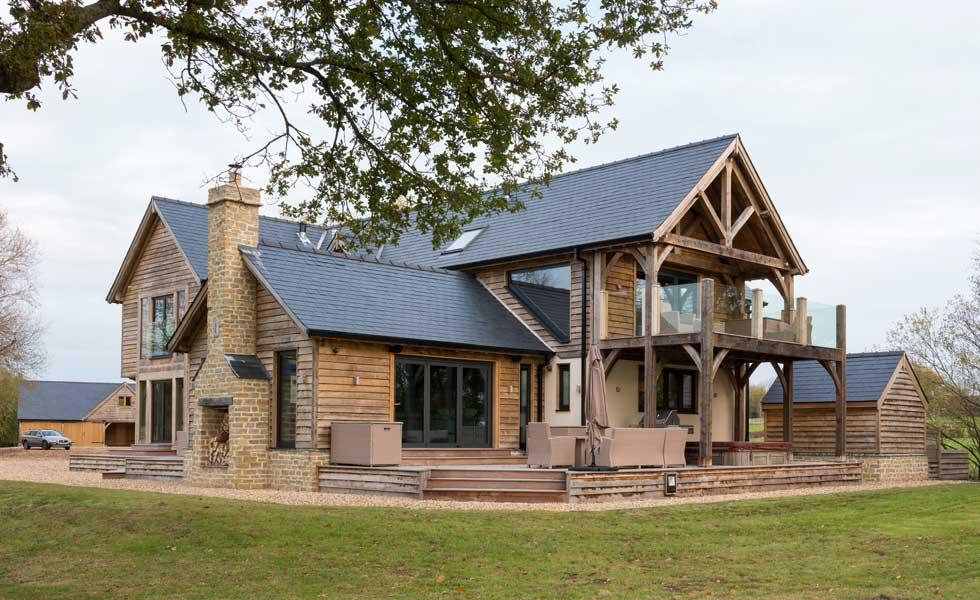oak frame forever home