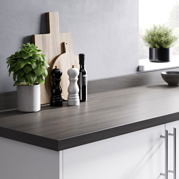 wood effect worktops from B&Q