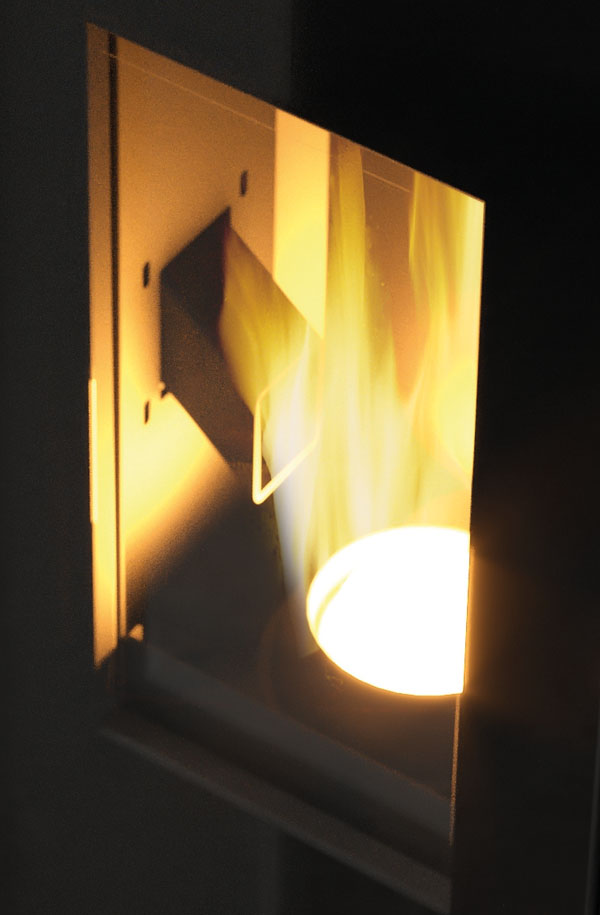 Fire burn chamber