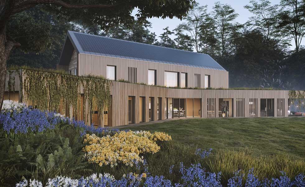 Autarkic House in Devon