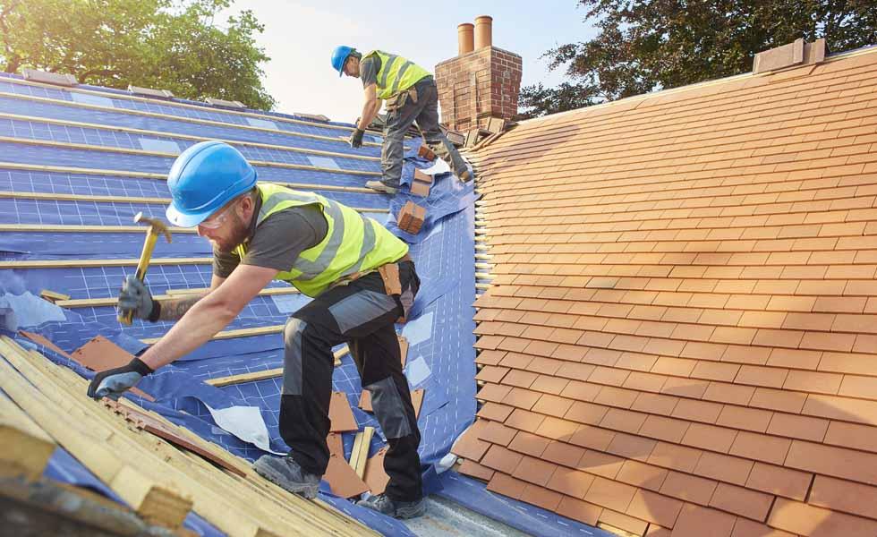 DIY roof fixing