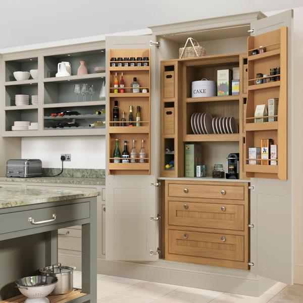 Kitchen larder storage unit