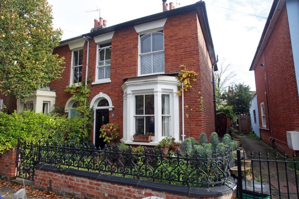 period house with sash windows