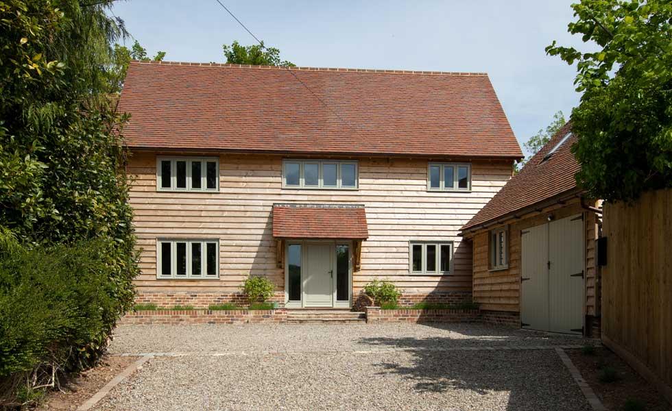 oak frame self build home built for £265k