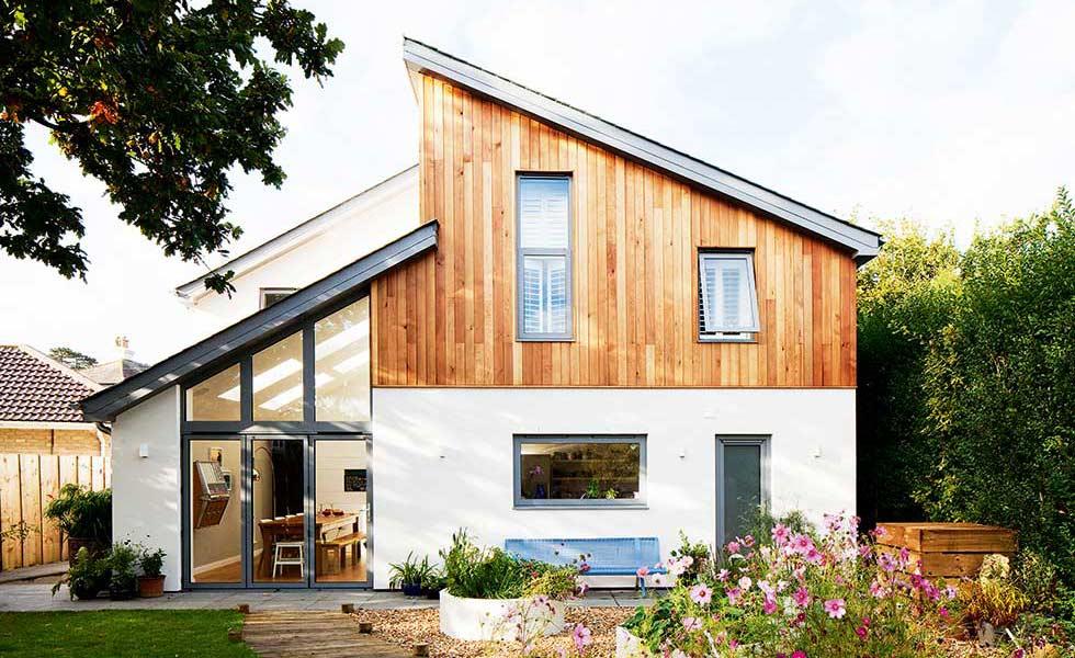 Angular self build home