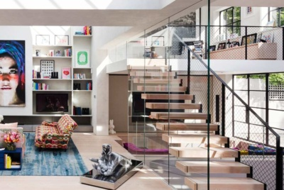 mezzanine home design idea