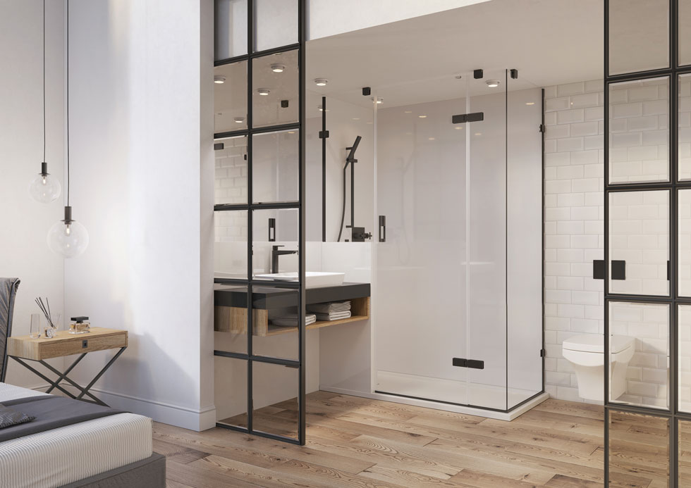 modular bathroom home design idea
