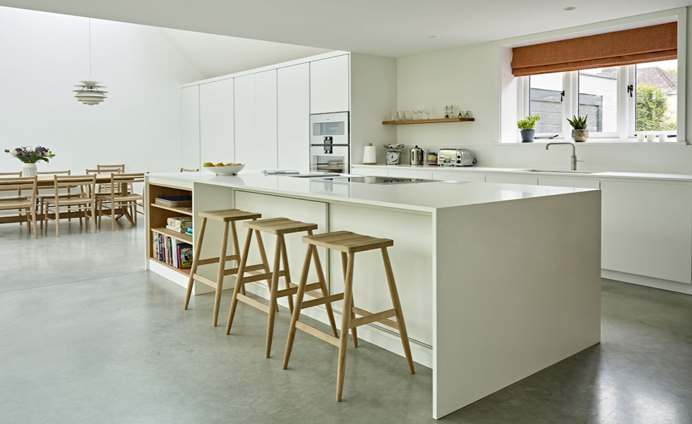 Open plan kitchen diner project