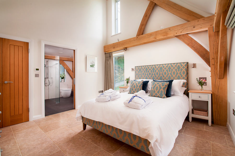 Bedroom at Gitcombe Retreat