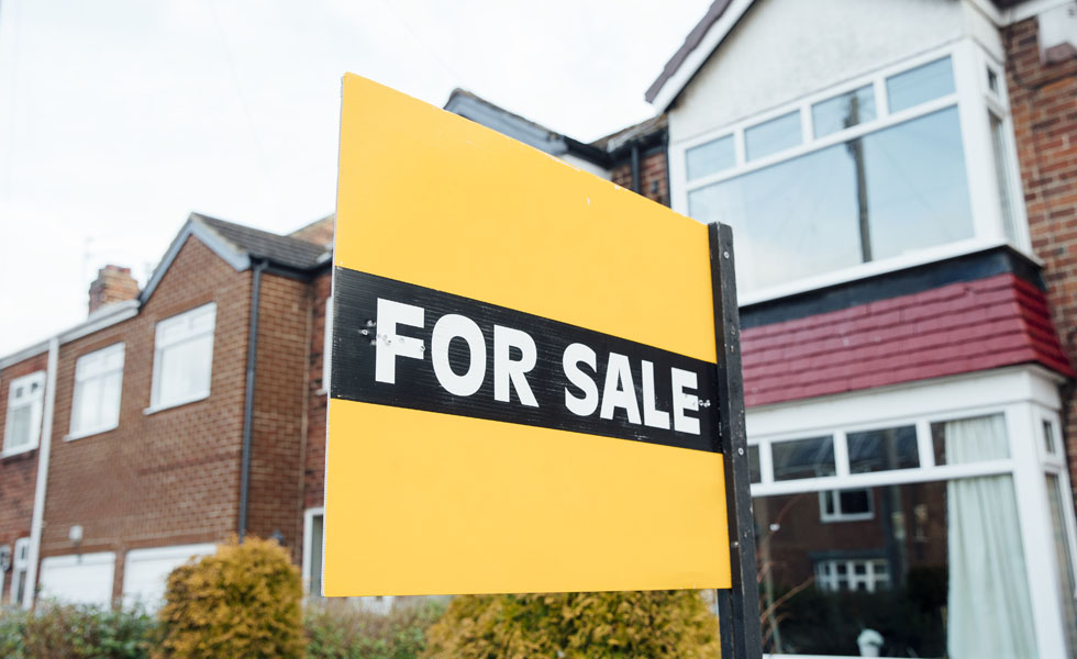 House prices increase in the UK