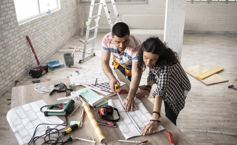 Renovating increases a home's value
