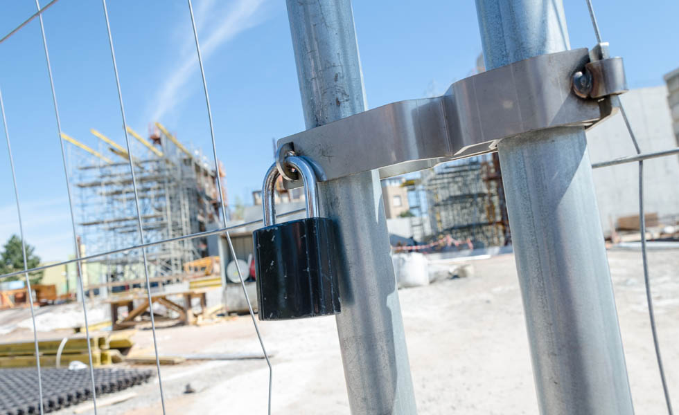 Protect your build site against theft