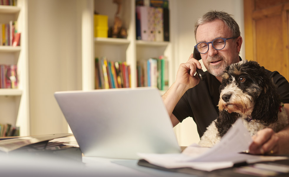 One in 12 households invest in home offices