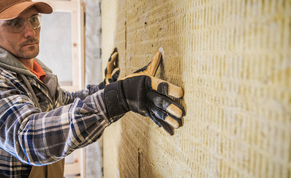 Retrofitting insulation increases energy efficiency
