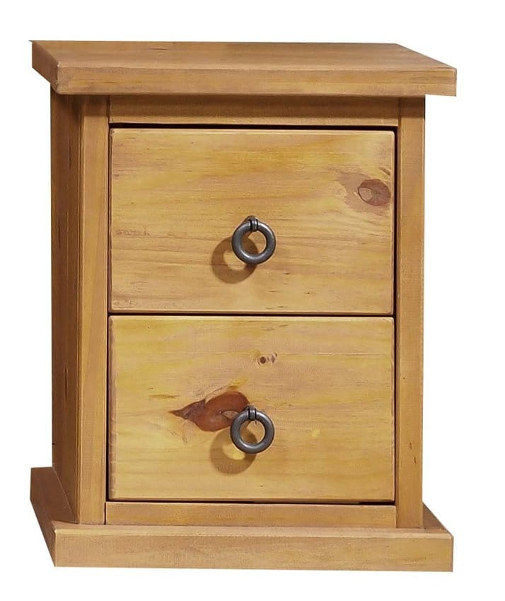 Farmhouse Pine Bedside Cabinet Homes Warehouse
