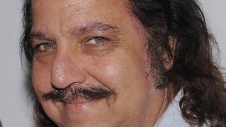 Ron Jeremy resting after surgery following heart aneurysm