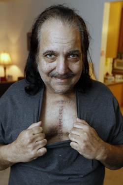 Ron Jeremy, out of hospital, vows to change his diet