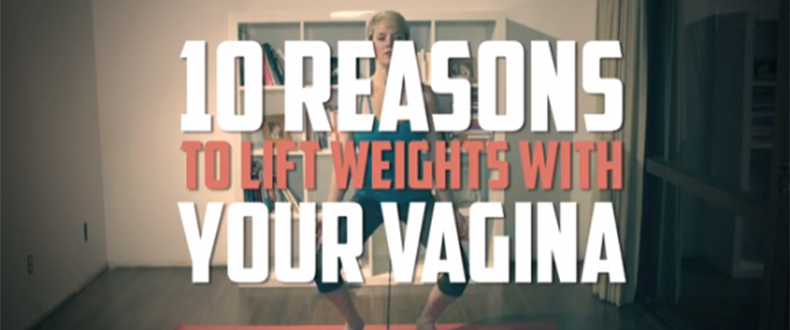 Lift Weights with Your Vagina