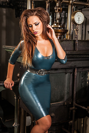 Skin Two Latex Smoke Screen Seducer Dress