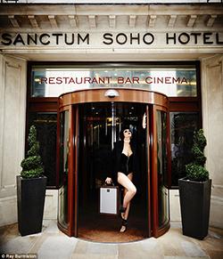 London Sanctum Hotel Opens S&M Suite