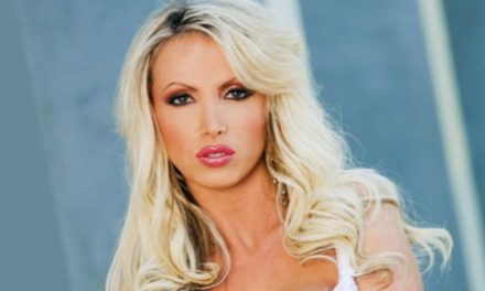 Nikki Benz as Toronto Mayoral candidate