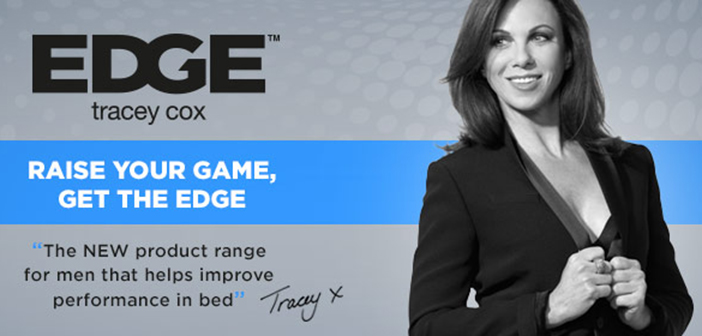 Tracey Cox takes men's sex toys to the Edge