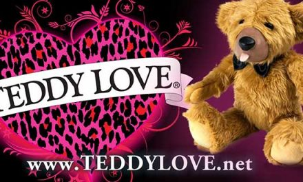 Hustler Hollywood to carry Teddy Love Bear