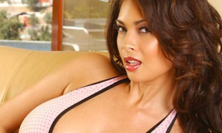 Tera Patrick featured on Pink Diamond69 packaging