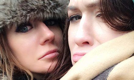 Samantha Bentley and Misha Cross invade Berlin