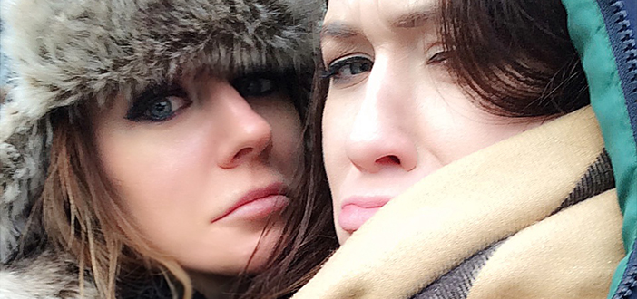 Samantha Bentley and Misha Cross invade Berlin