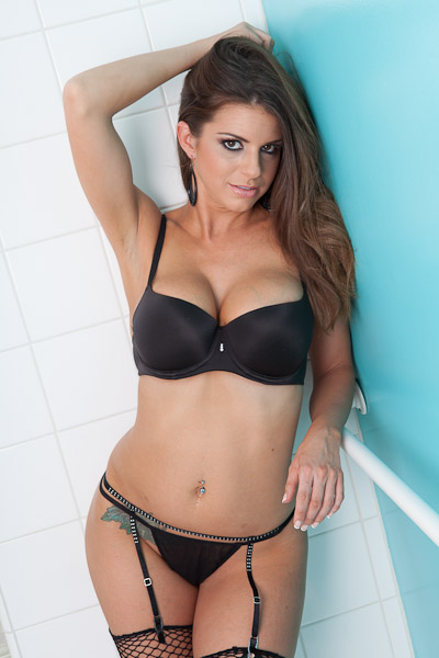 Brooklyn Chase in lingerie