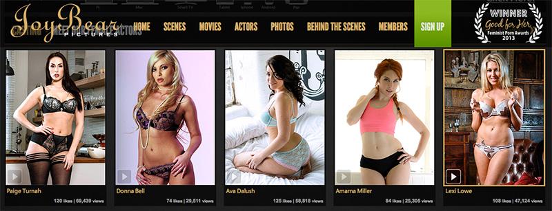 Joybear British porn stars