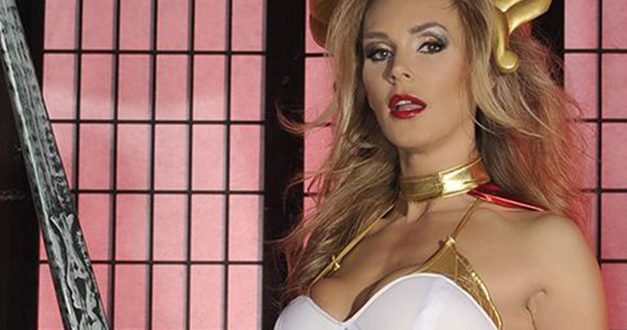 Tanya Tate adds a touch of Geekdom