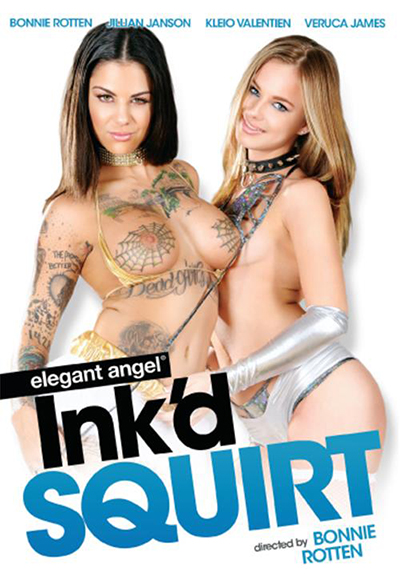 Elegant Angel Ink'd Squirt DVD cover