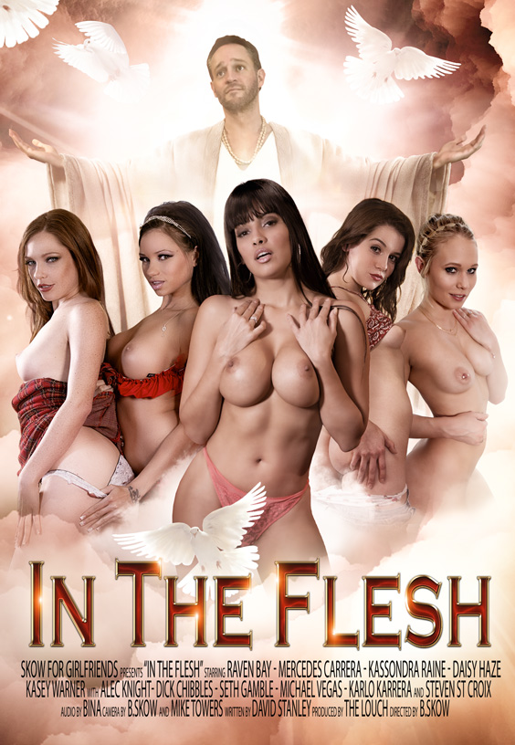 Girlfriends Films' 'In the Flesh' DVD cover