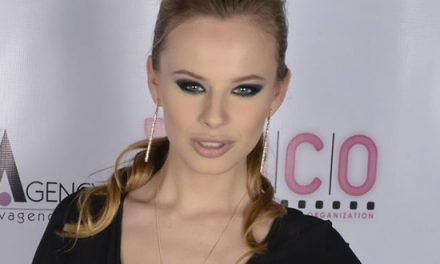 Jillian Janson on the cover of Girls and Corpses