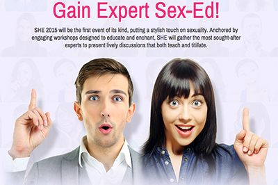 Reasons to go to Sexual Health Expo 2015